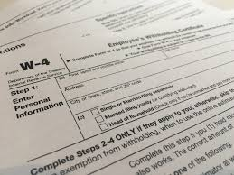 US Tax: Are you familiar with the new W-4 form?